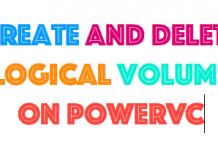 logical volume powervc