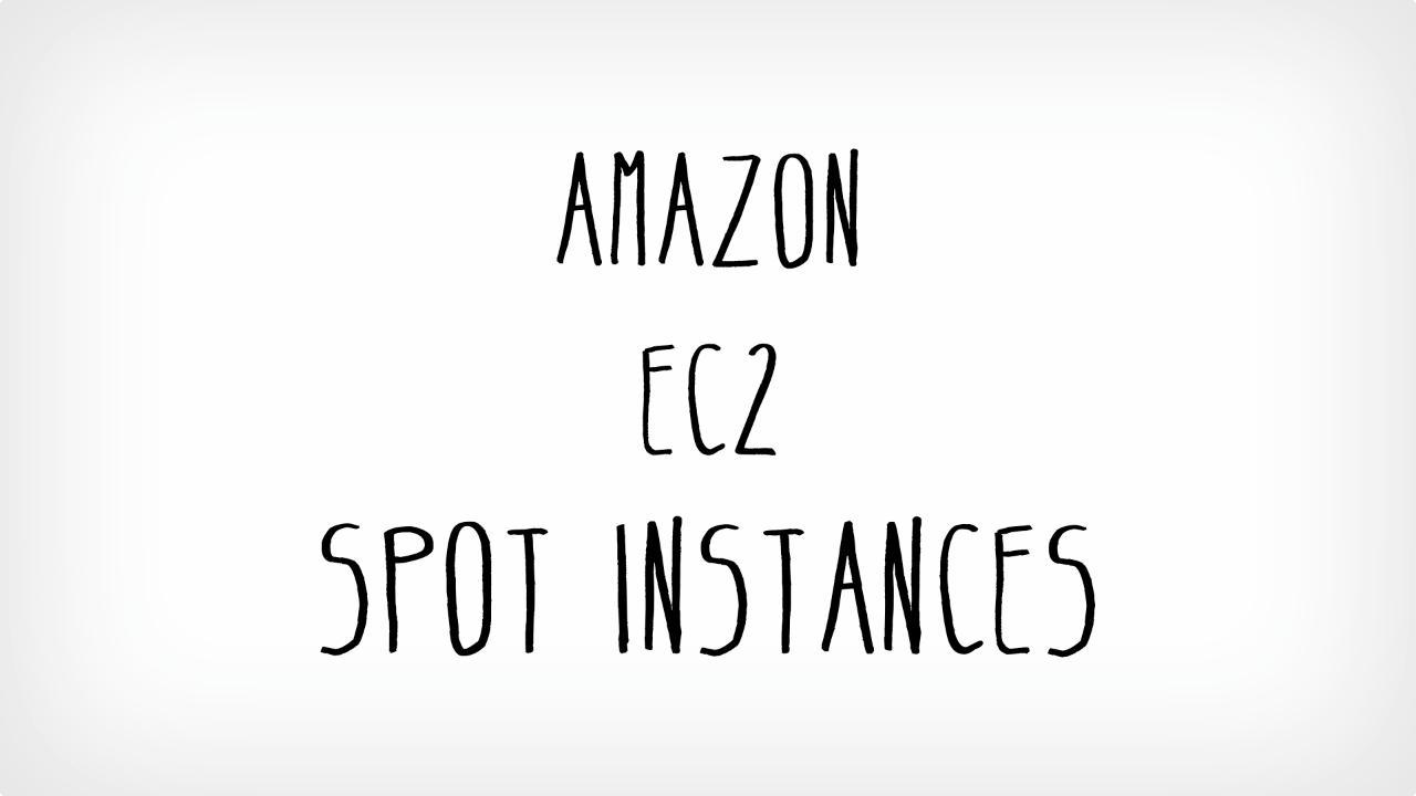 spot instance aws ec2