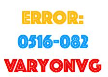error varyon