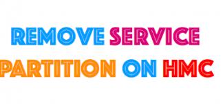 remove service partition